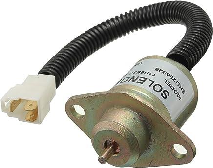 12V Fuel Shutdown Diesel Shut Off Solenoid for Yanmar 4TNV94L-SFN 11965377950