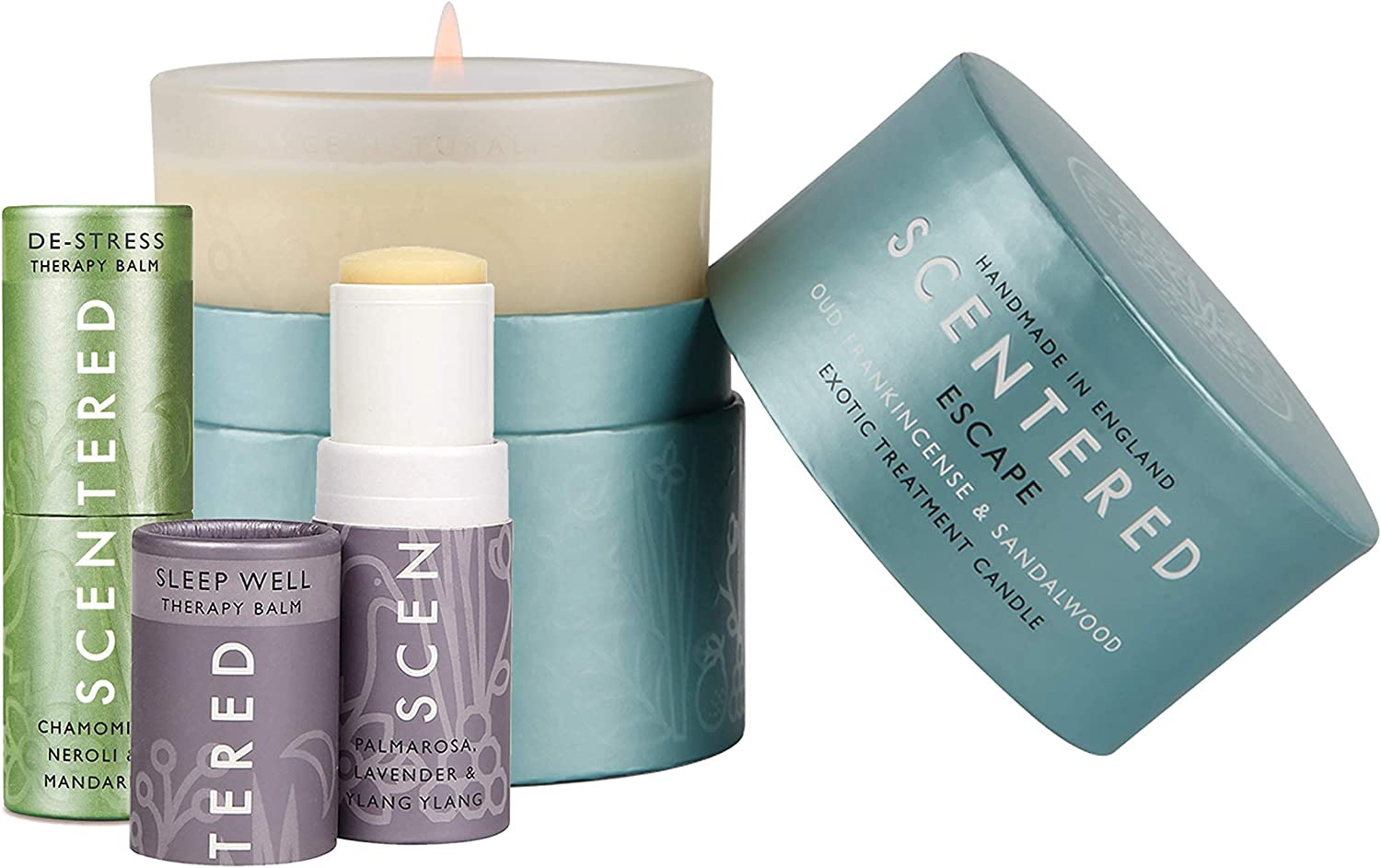Scentered Aromatherapy Cheap Bundle High material Escape Sleep Scented Candle Well
