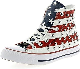 converse bandiera americana uomo