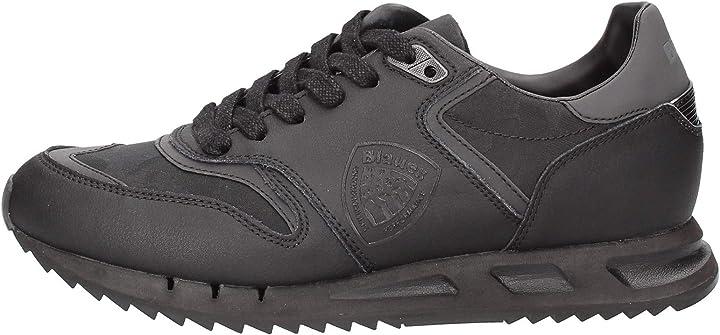 Scarpe blauer sneaker 9fmemphis06 cal blk B07VT6NYVT
