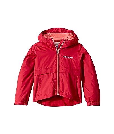 Columbia Kids Rain-Zillatm Jacket (Toddler) (Pomegranate/Wild Salmon) Girl