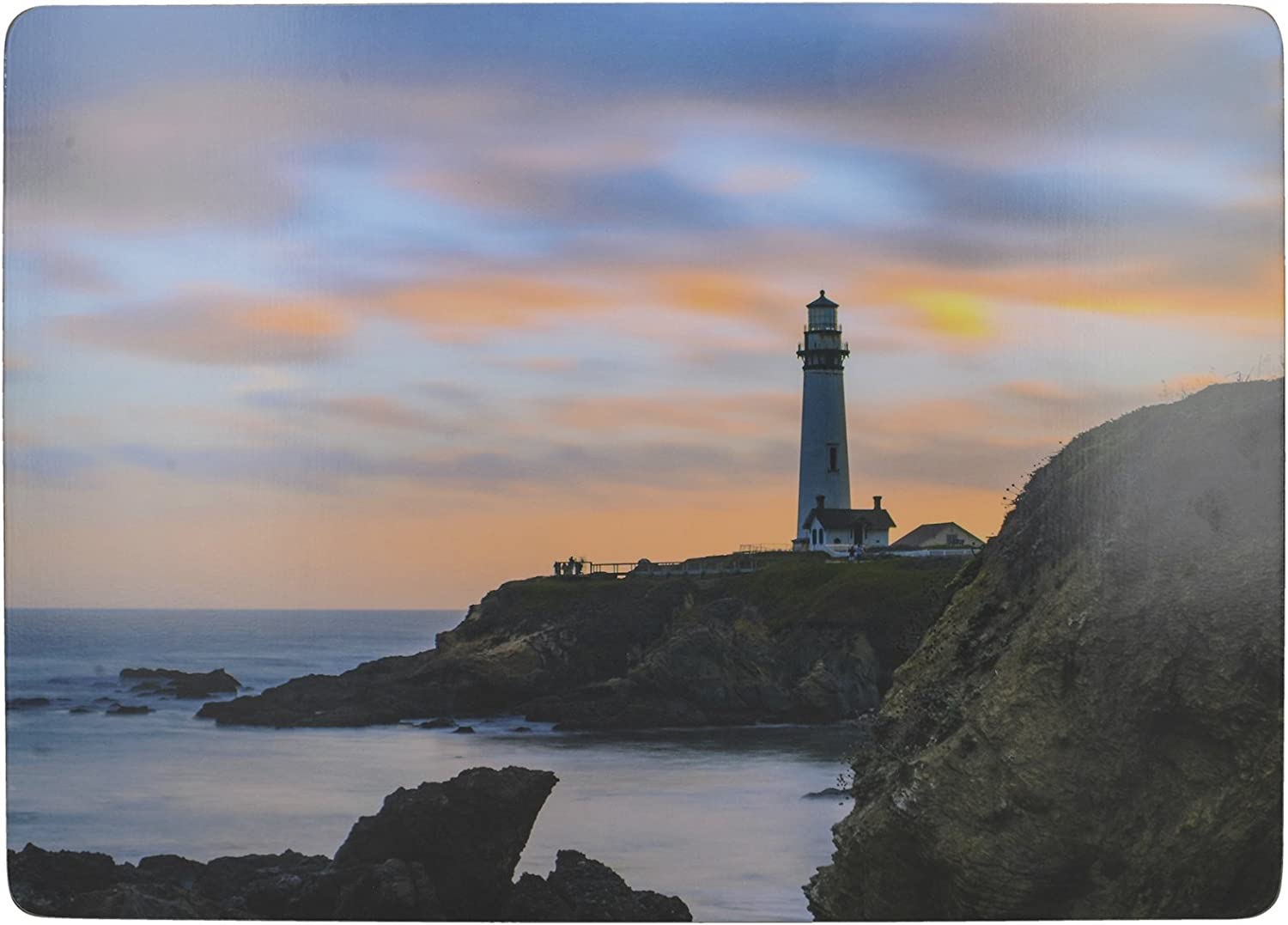 Creative Tops 'Lighthouse' Premium 大好評です Cork-Backed Large 正規逆輸入品 Placemats