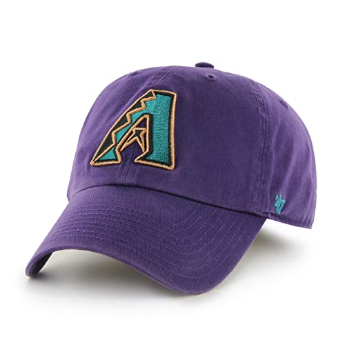 Arizona Diamondbacks 47 Brand MLB Cooperstown Clean Up Adjustable Hat