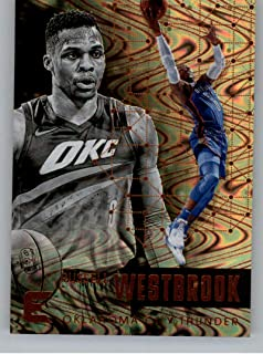2017-18 Panini Essentials Spiral Basketball Card #5 Russell Westbrook Oklahoma City Thunder Official NBA Trading Card
