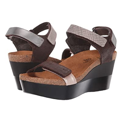 Naot Miracle (Mine Brown/Mirror Combo) Women