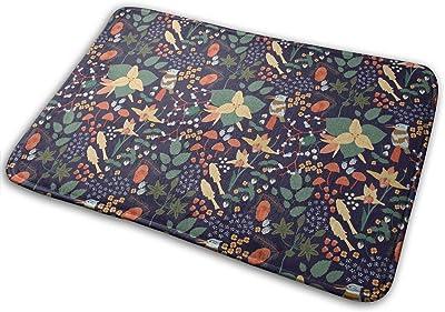 Birds in The Grass Carpet Non-Slip Welcome Front Doormat Entryway Carpet Washable Outdoor Indoor Mat Room Rug 15.7 X 23.6 inch