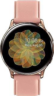 Samsung Galaxy Active 2 R835U Smartwatch 40mm GPS + LTE - Leather Band Rosegold - (Renewed)