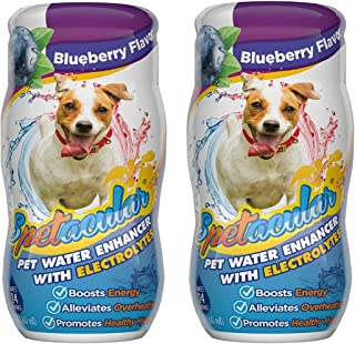Spetacular 2 Pack Vitamin Boost and Electrolyte Liquid Supplement for Dogs - 3 Flavors to Choose From