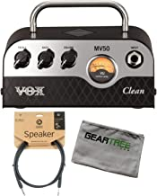 Vox MV50 50w Clean Head w/Cleaning Cloth and Speaker Cable