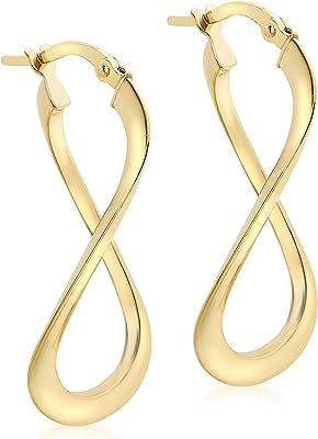 Carissima Gold 7.53.9099 - Orecchini a cerchio in oro giallo 18 kt