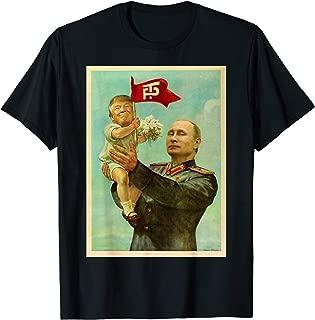 Funny Baby Trump Putin 2017 T Shirt