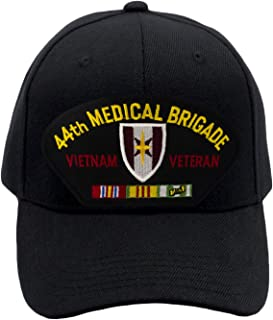 PATCHTOWN 44th Medical Brigade - Vietnam Veteran Hat/Ballcap Adjustable One Size Fits Most