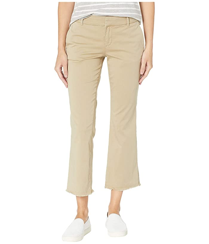 KUT from the Kloth Stella Kick Flare Trousers (Khaki) Women