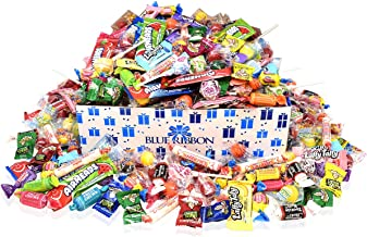 Assorted Candy Bulk Party Mix, individually wrapped bulk candy (4.5 lbs); Airheads, Smarties, Tootsie Rolls, Warheads, Atomic fireballs, Lemon Heads, Fruit Chews…