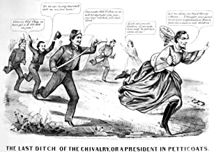 President In Petticoats NThe Last Ditch Of The Chivalry Or A President In Petticoats A Northern Satire On The Capture Of Jefferson Davis Lithograph Cartoon By Currier And Ives 1865 Poster Print by (1