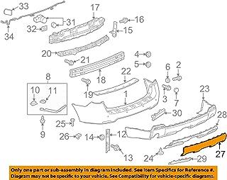 2011-14 Chevy Cruze Jet Black//Sport Red Driver Side RH Dash Panel Trim 95965322