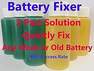 Golf CART Battery Restore Liquid Solution-Refurbish, Repair 6,8 Volt EZGO, Club