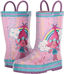 1TLF502 Trolls Rain Boot (Toddler/Little Kid)