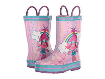 Favorite Characters 1TLF502 Trolls Rain Boot (Toddler/Little Kid) (Pink) Girls Shoes
