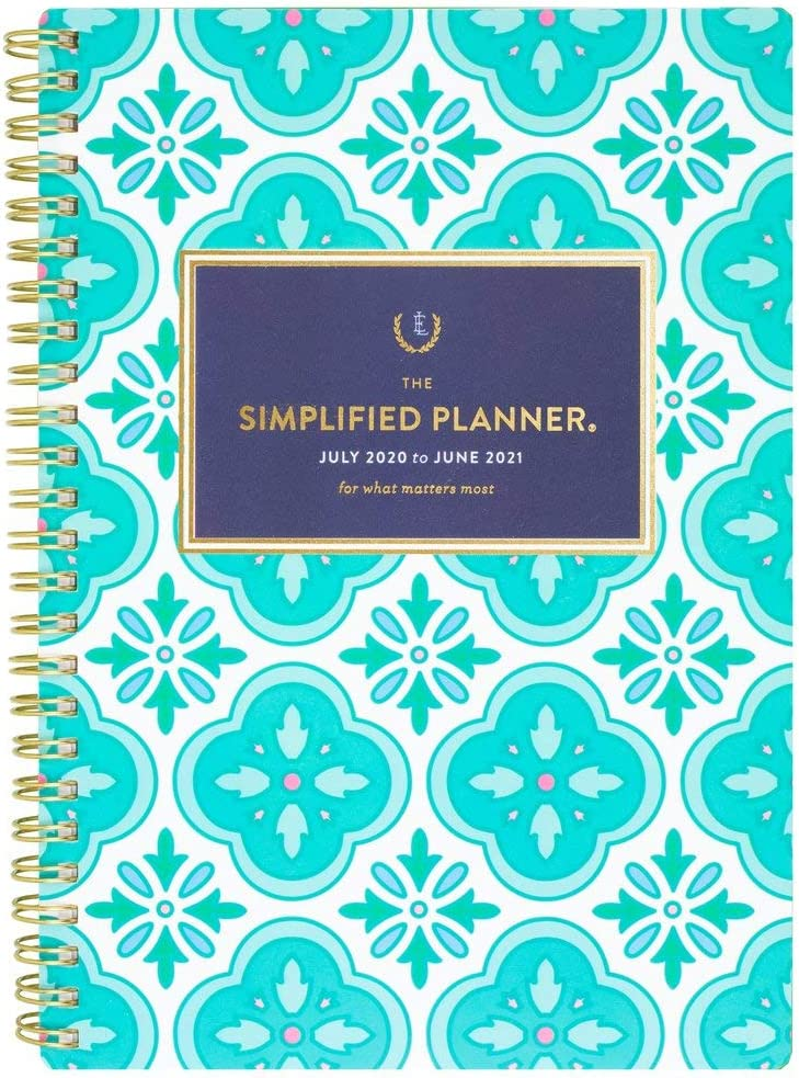 Excellent Academic Planner 2020-2021 Simplified for AT-A-GLANCE Selling and selling Weekly