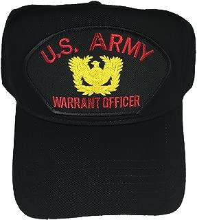 U.S. Army Warrant Officer W/Logo HAT - Black - Veteran Owned Business