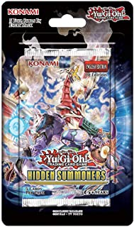 Yu-Gi-Oh! Hidden Summoners Blistered Booster Pack (3 Pack)