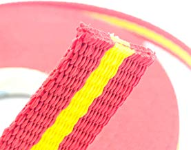 Cinta Nylon Polipropileno   Longitud 10 Metros   Anchura 25 MM   Color Bandera España   Alta Resistencia   Doble Tejido   Collar Perros