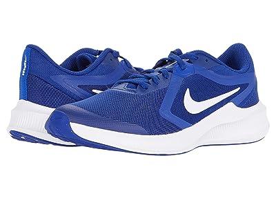 Nike Kids Downshifter 10 (Big Kid) (Deep Royal Blue/White/Hyper Blue) Kid