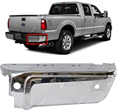 MBI AUTO - Chrome, Steel Rear Passenger's RIGHT Bumper End for 2008-2016 Ford F250 F350 W/Park 08-16, FO1105121