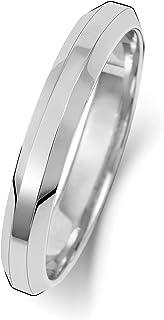 Anello Fede Nuziale Uomo/Donna 3mm in Oro bianco 9k (375) WJS189309KW