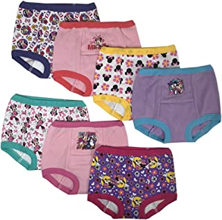 9414012641408 Disney Minnie Mouse Girls Potty Training Pants Panties Underwear Toddler  7-Pack Size 2T 3T
