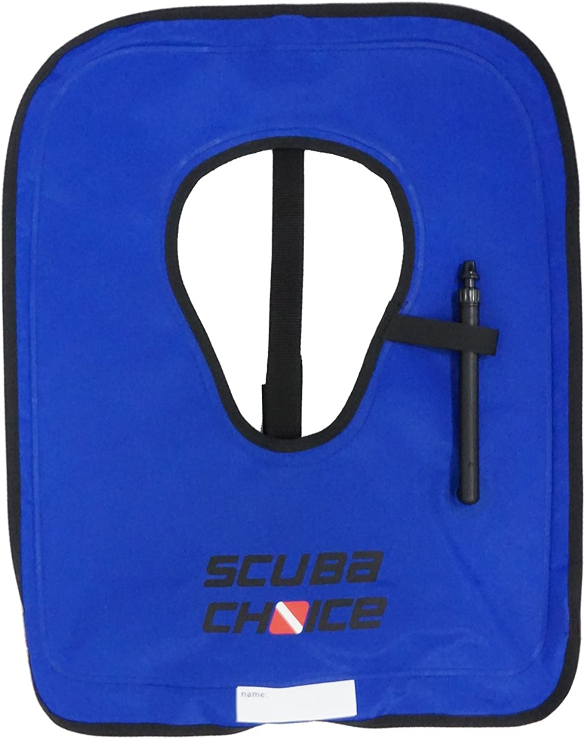 Scuba Choice Adult Royal bluee Snorkel Vest with Credch Strap, Large
