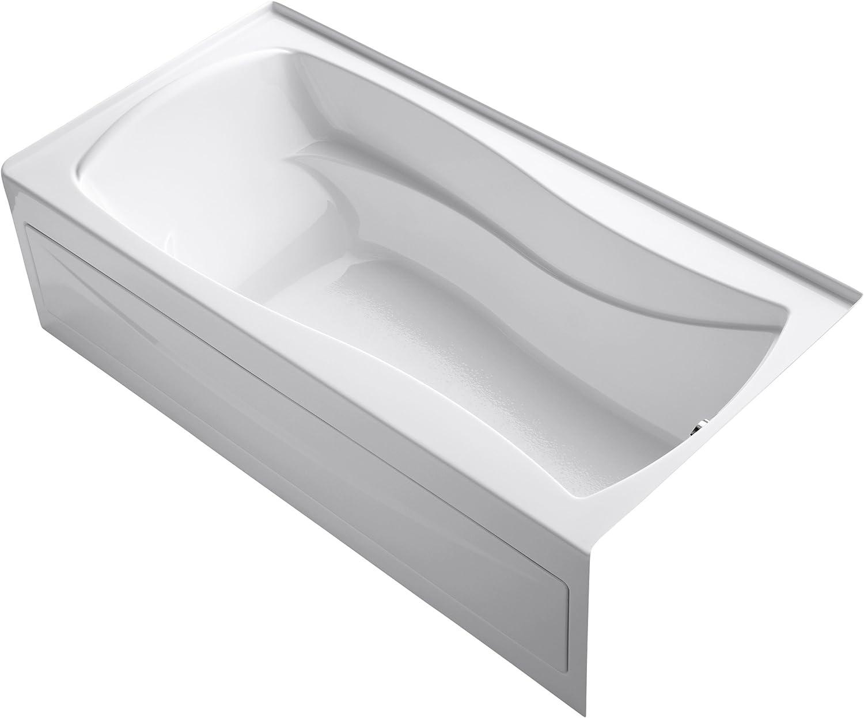 KOHLER Spasm price K-1259-RA-0 Mariposa White Overseas parallel import regular item Bathtub