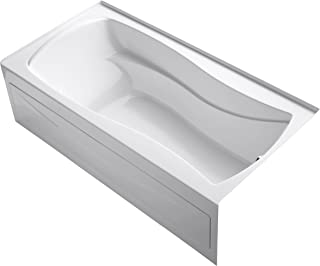 KOHLER K-1259-RA-0 Mariposa Bathtub, White