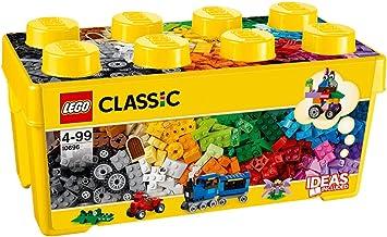 جعبه اندازه متوسط و کلاسیک بلوکهای تقویت خلاقیت لگو محصول LEGO.