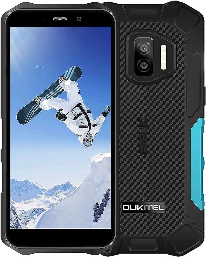 58 opinioni per Rugged Smartphone in Offerta 2021, OUKITEL WP12 Dual 4G IP68 Impermeabile
