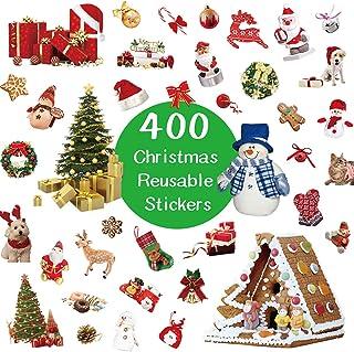 100pcs NOËL Xmas Stickers pack kids étiquettes SCEAUX ENVELOPPE Fun Décoration