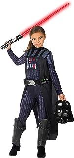 Rubie's Girls Star Wars Classic Darth Vader Costume, Large