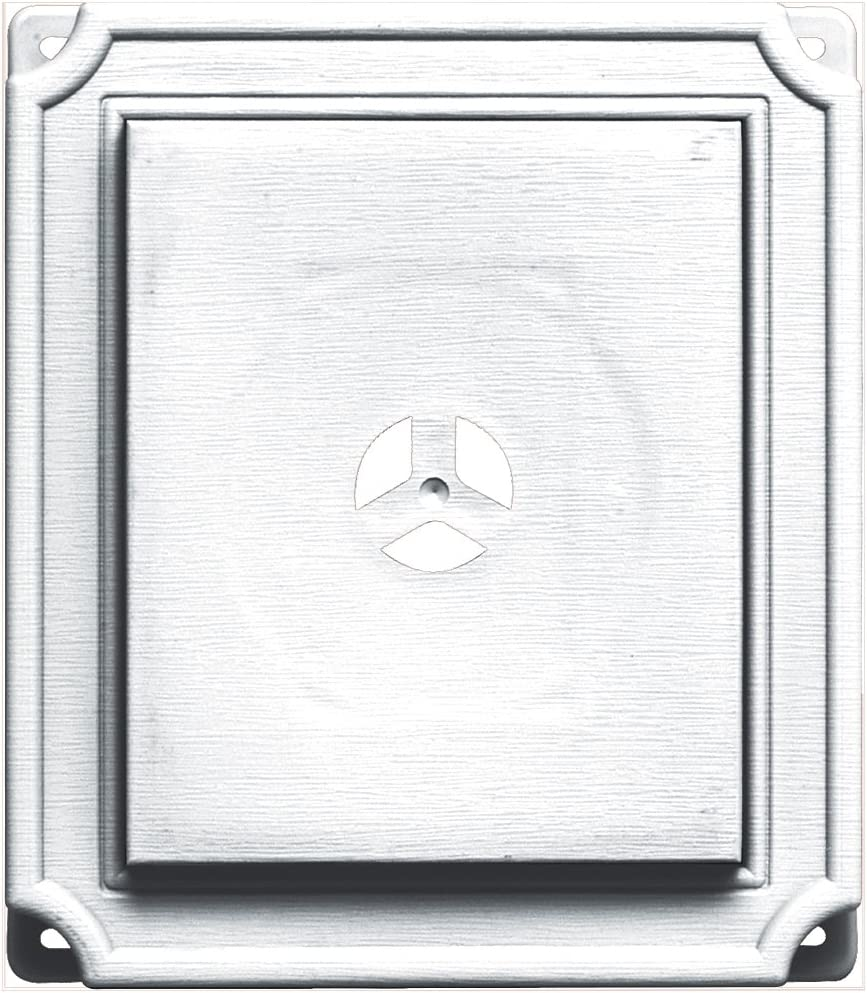 High material Builders Edge 130110001001 Mounting Block Outlet SALE White 001