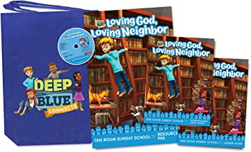 Deep Blue Connects One Room Sunday School Kit Winter 2019-20: Loving God, Loving Neighbor Ages 3-12