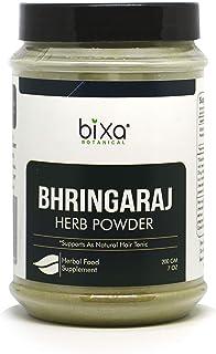 Ideal Hair Tonic Bhringraj Powder (Eclipta Alba) - 200g (7 Oz) | Pure & natural Supplement, externally for strengthening h...