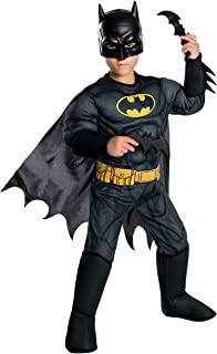 Rubie's Costume Boys DC Comics Deluxe Batman Costume, Medium