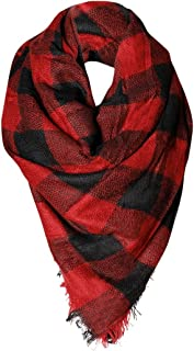 Buffalo Check Womens Fashion Warm Winter Blanket Scarf Fashion Scarves or Shawl