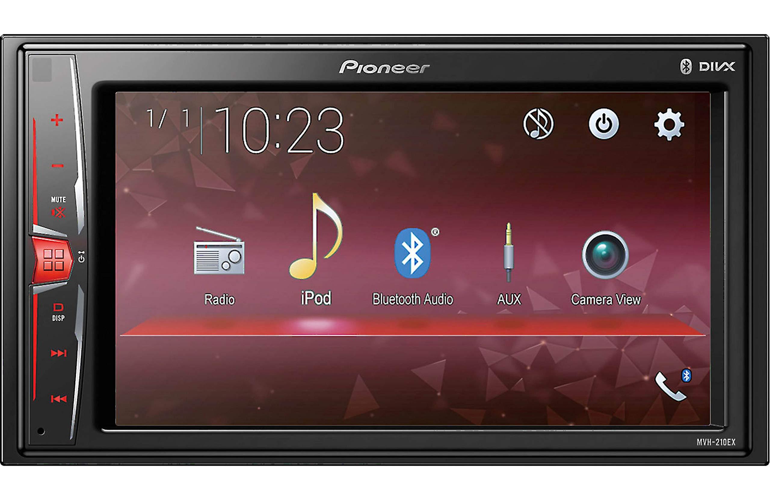 Pioneer MVH210EX Multimedia Receiver Bluetooth