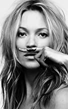 Artwu Kate Moss, Life Is a Joke,Super Model Wall Art Home Wall Decorations for Bedroom Living Room Oil Paintings Canvas Prints-994