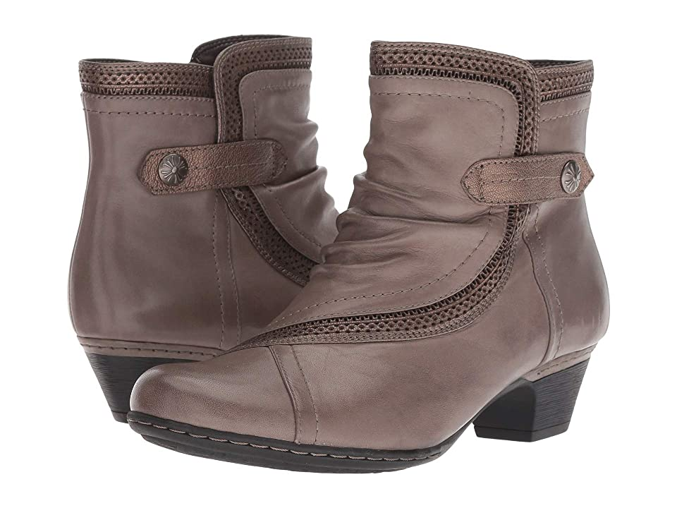 Rockport Cobb Hill Collection Cobb Hill Abbott Panel Boot (Grey Leather) Women