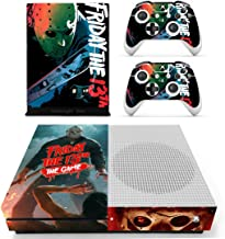 Decal Moments Xbox One S(Slim)Console Skin Set Halloween Vinyl Decal Sticker Protective for Xbox One S(Slim) Console Controllers