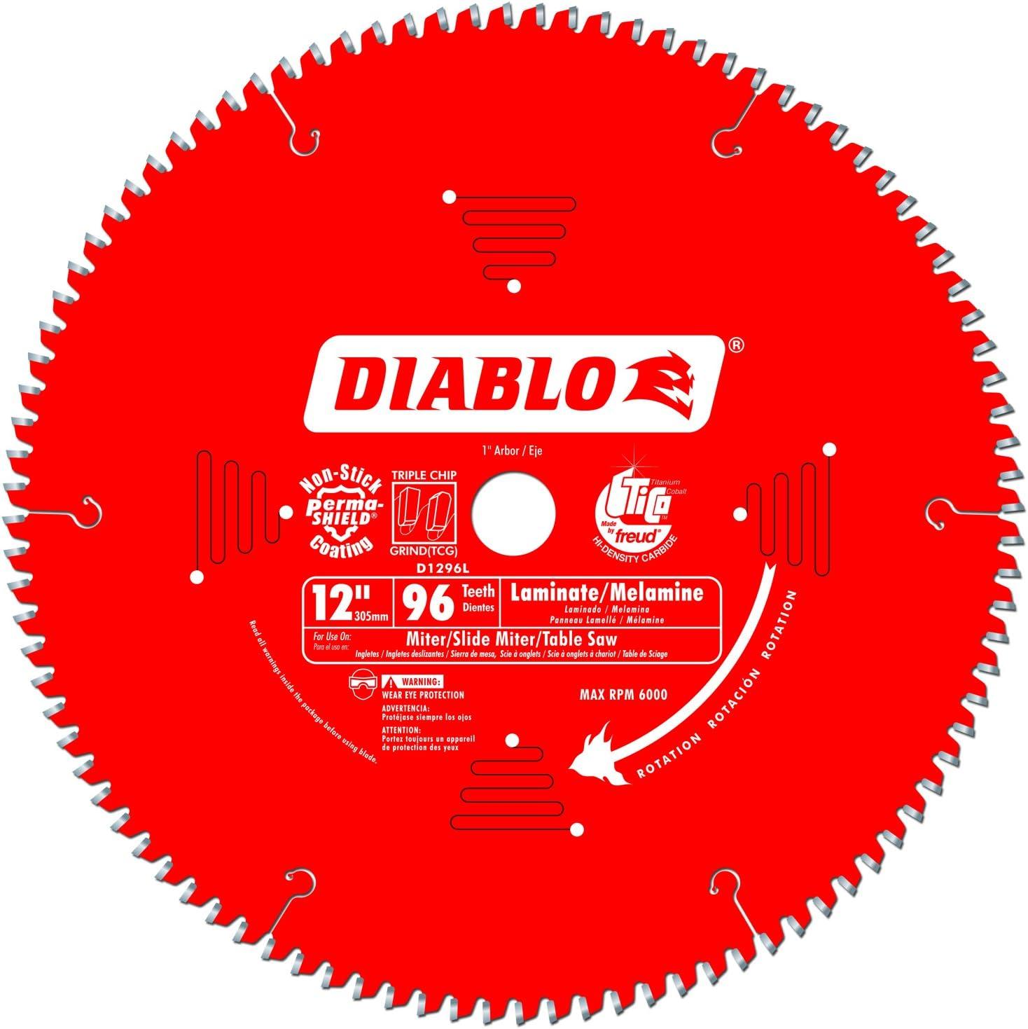 Freud D1296L Diablo Max 55% OFF Melamine Laminate Saw and Sales results No. 1 Flooring Bl Wood
