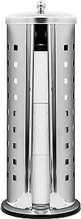 RIDDER Riddle Porte-Rouleau de Papier WC en Acier Inoxydable Chromé Env. Ø 15 x 38 cm