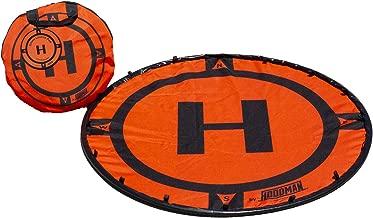 Hoodman HDLP3 Drone Landing Pad Launch Accessory 3 Foot Diameter Fits DJI Phantom Size Smaller RC Quadcopter